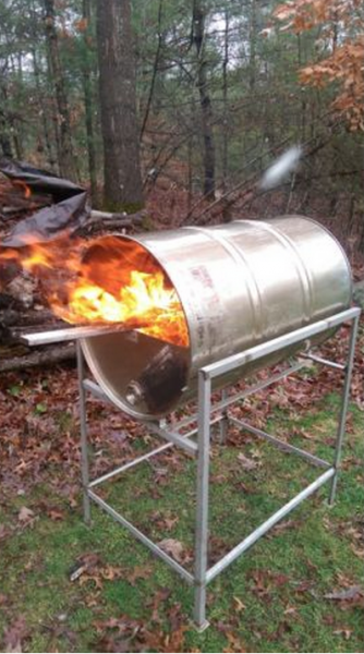 Stainless Steel Drum Smoker Stainless Steel Barrel Grill