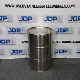 (12 PACK) 30 gal 304 NEW stainless Closed Head Barrel (1mm) $275 per