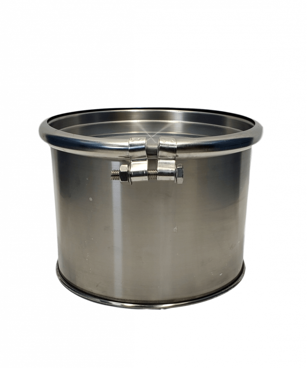 New 3 gallon stainless steel barrel