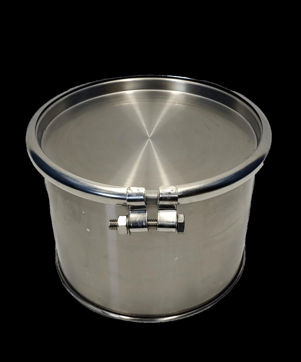 New 3 gallon stainless steel barrel