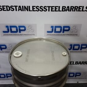 40 gal 304 NEW stainless Closed Top Barrel Sanitary Inside (1.5mm)