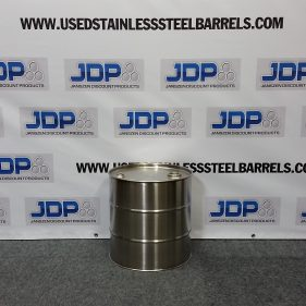 10 gal 304 NEW stainless Closed Head Barrel (1mm)