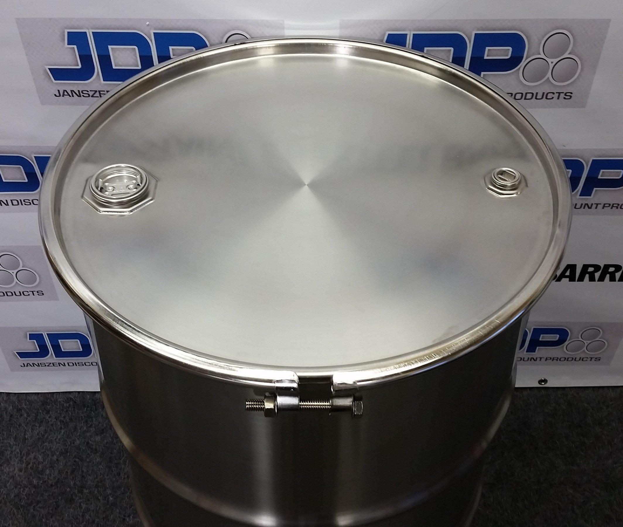 New 55 Gallon Stainless Steel Barrel Open Head 1 0 Mm