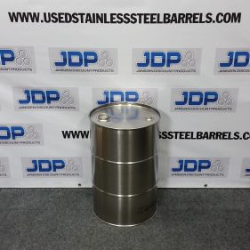 15 gal 304 NEW Stainless Closed Head Barrel (1.0mm)