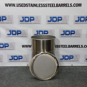 15 gal 304 NEW stainless OPEN HEAD Barrel (1mm)