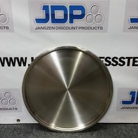 30 Gallon Stainless Steel Drum Lid with gasket