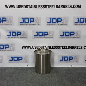 5 gal 304 NEW stainless Closed Head Barrel (1mm)