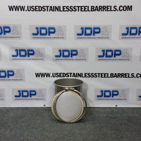 5 gal 304 NEW stainless Open Head (1mm)