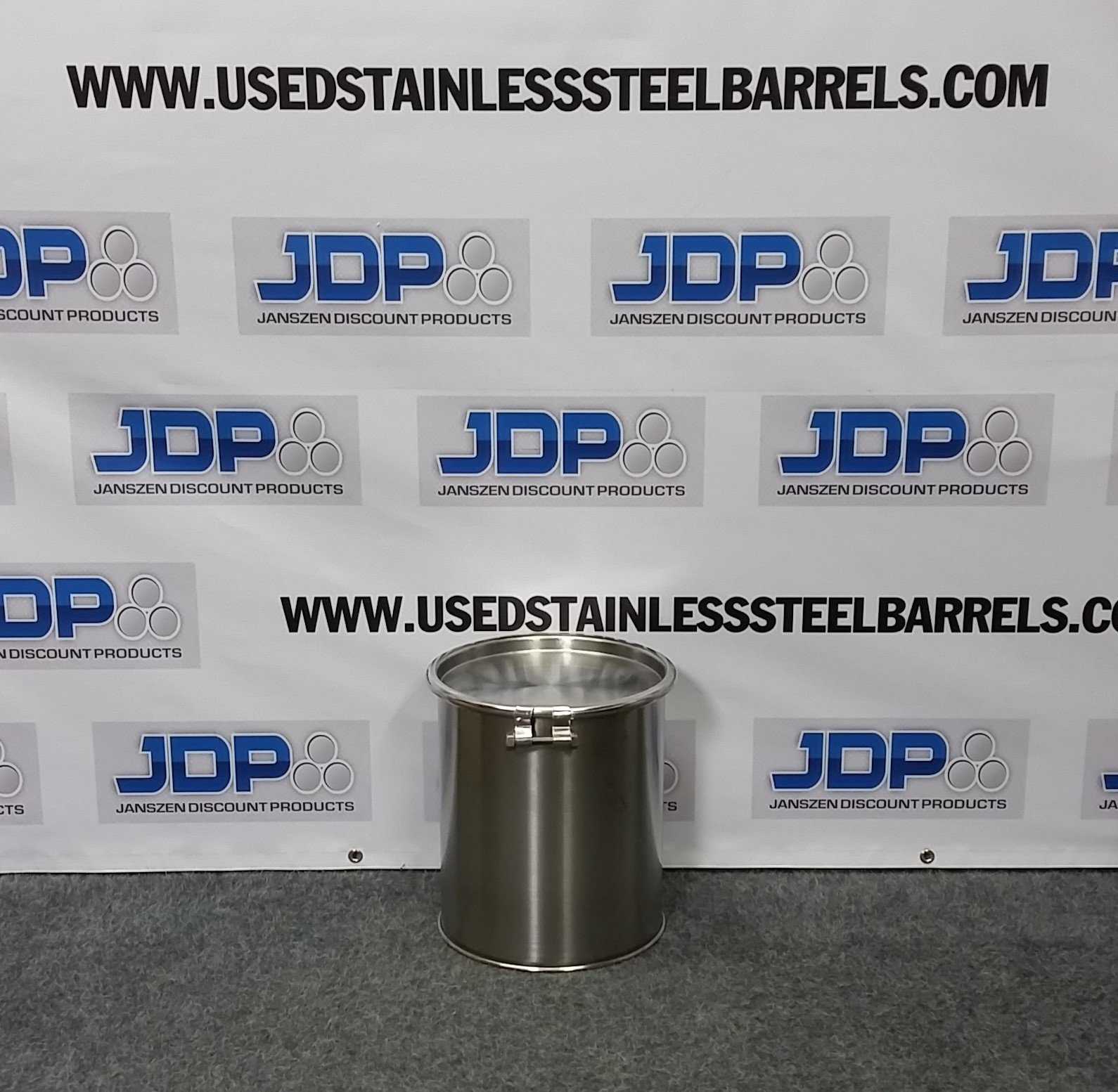 New 5 Gallon Stainless Steel Barrel Open Head 8 Mm