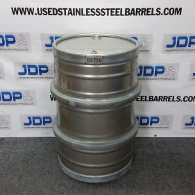 (4 PACK) 55 gal 304 USED LIKE NEW stainless Closed Head Barrel Sanitary Bottom (1.5mm) $329 per