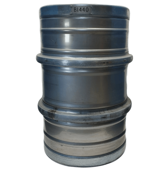 55 gallon stainless steel barrel closed top