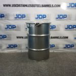 30 gallon stainless steel drum