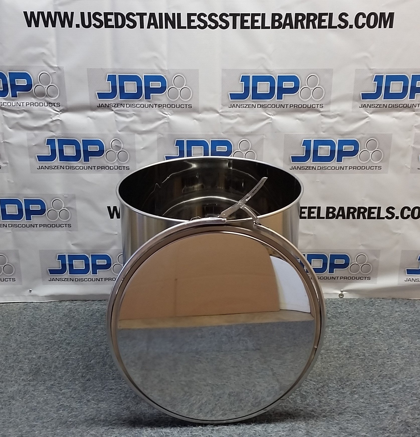 30 gallon food grade stainless steel drum