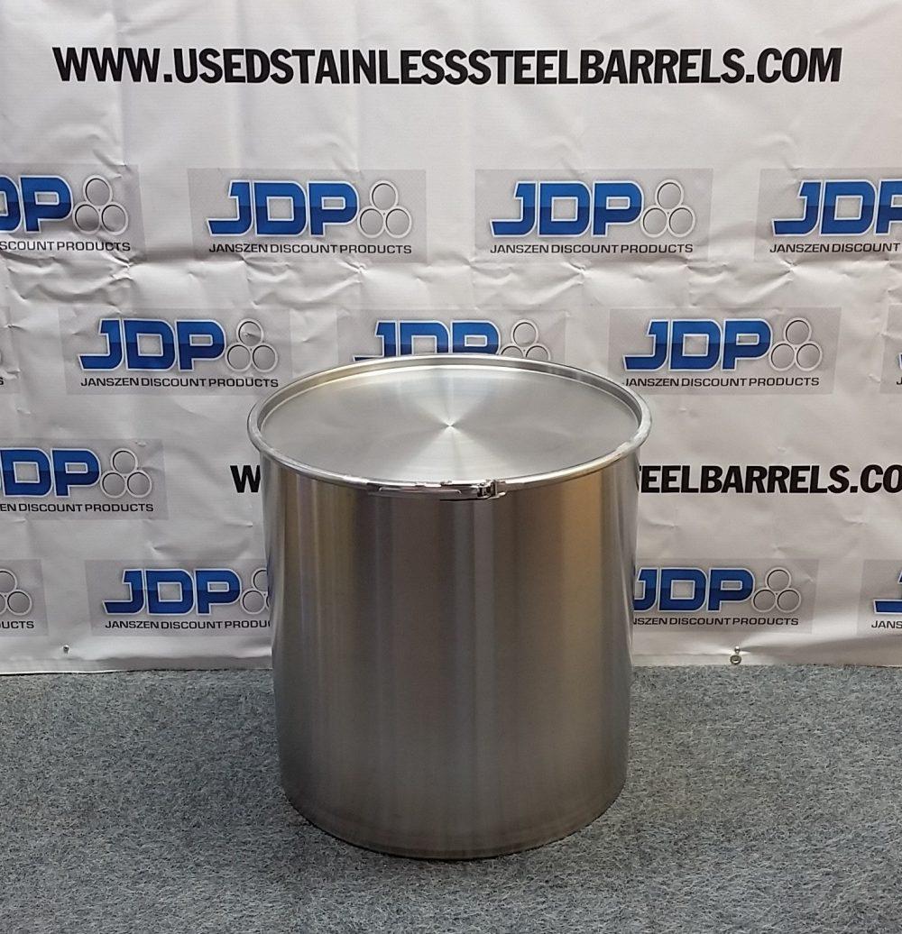 30 gallon sanitary stainless steel drum