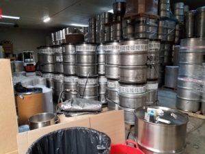 used open top drums
