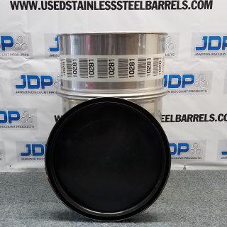 used open top barrel