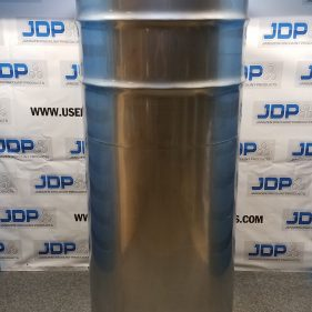210 gal 304 NEW stainless Open Head Barrel Crevice Free (1.5mm)