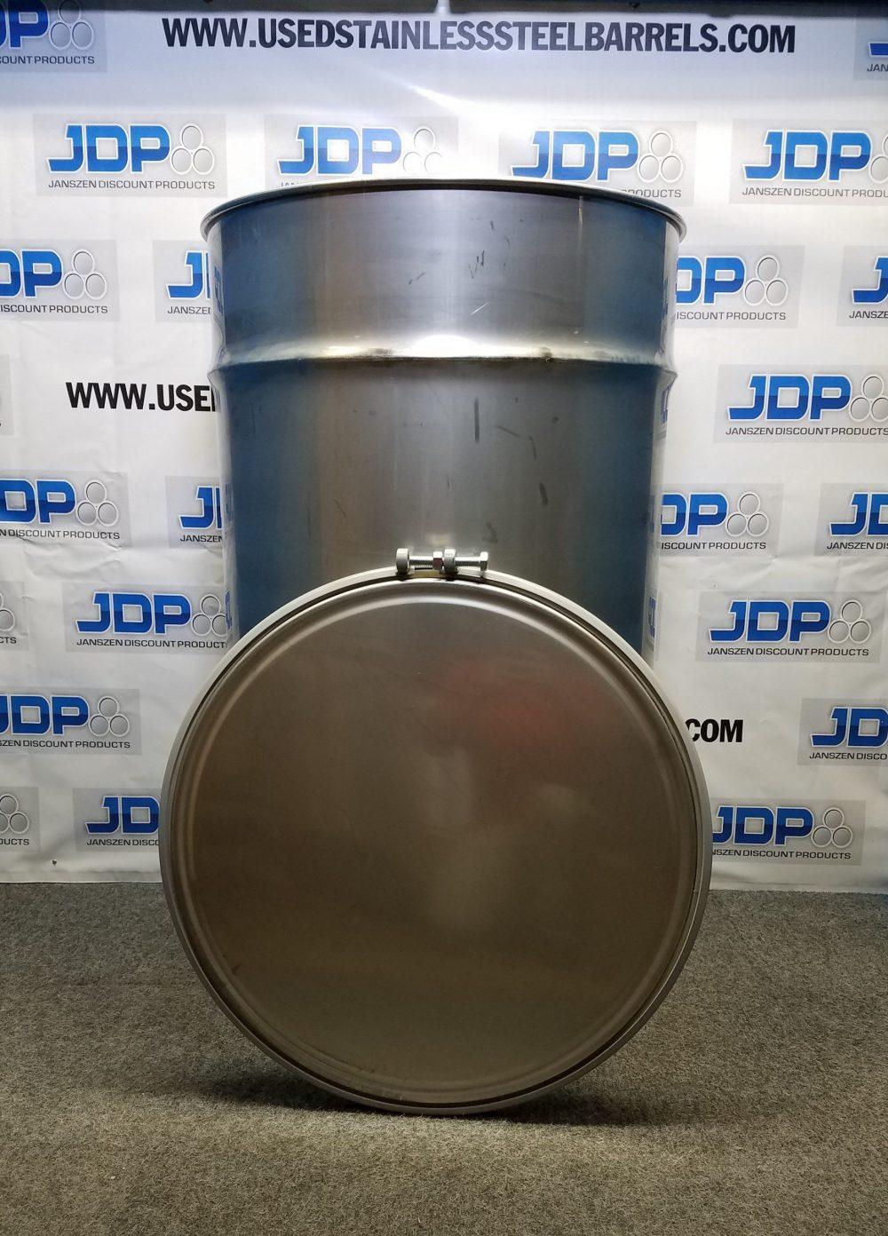 150 gallon open top drum