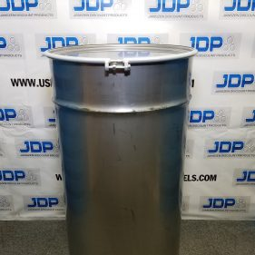 150 gal 304 NEW stainless Open Head Barrel Crevice Free (1.5mm)