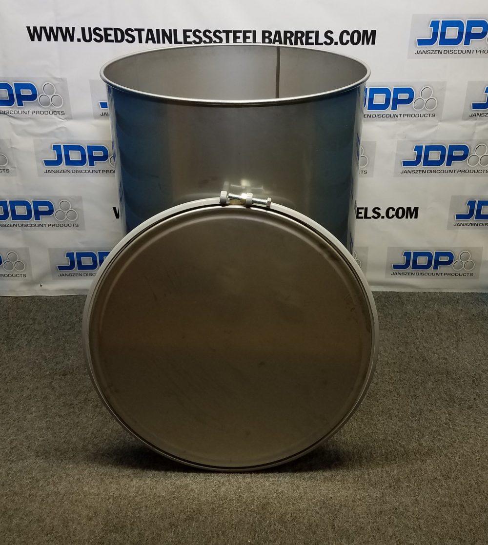 120 gallon stainless steel barrel