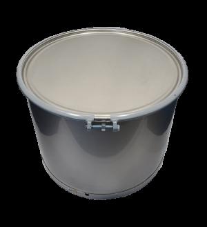 New 65 gallon stainless steel barrel