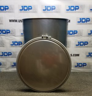 120 gallon stainless steel drum