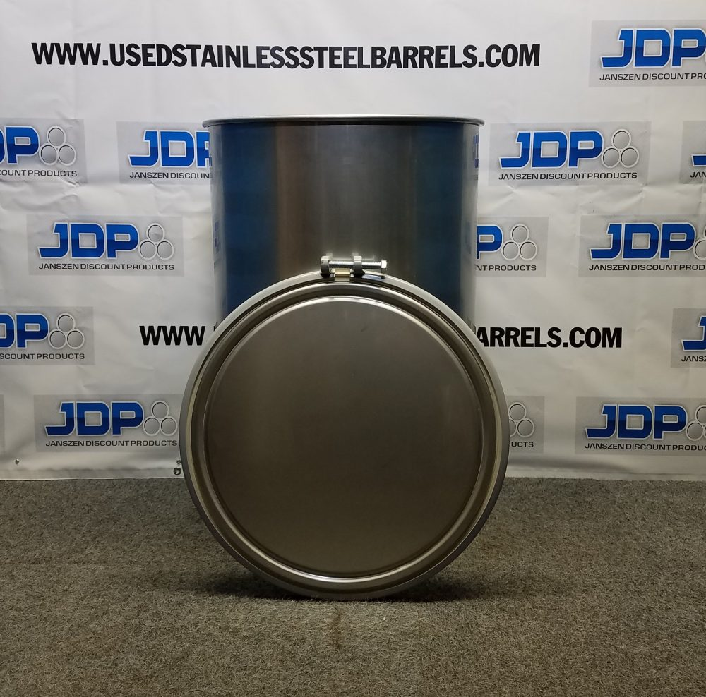 55 gallon stainless steel food grade drum