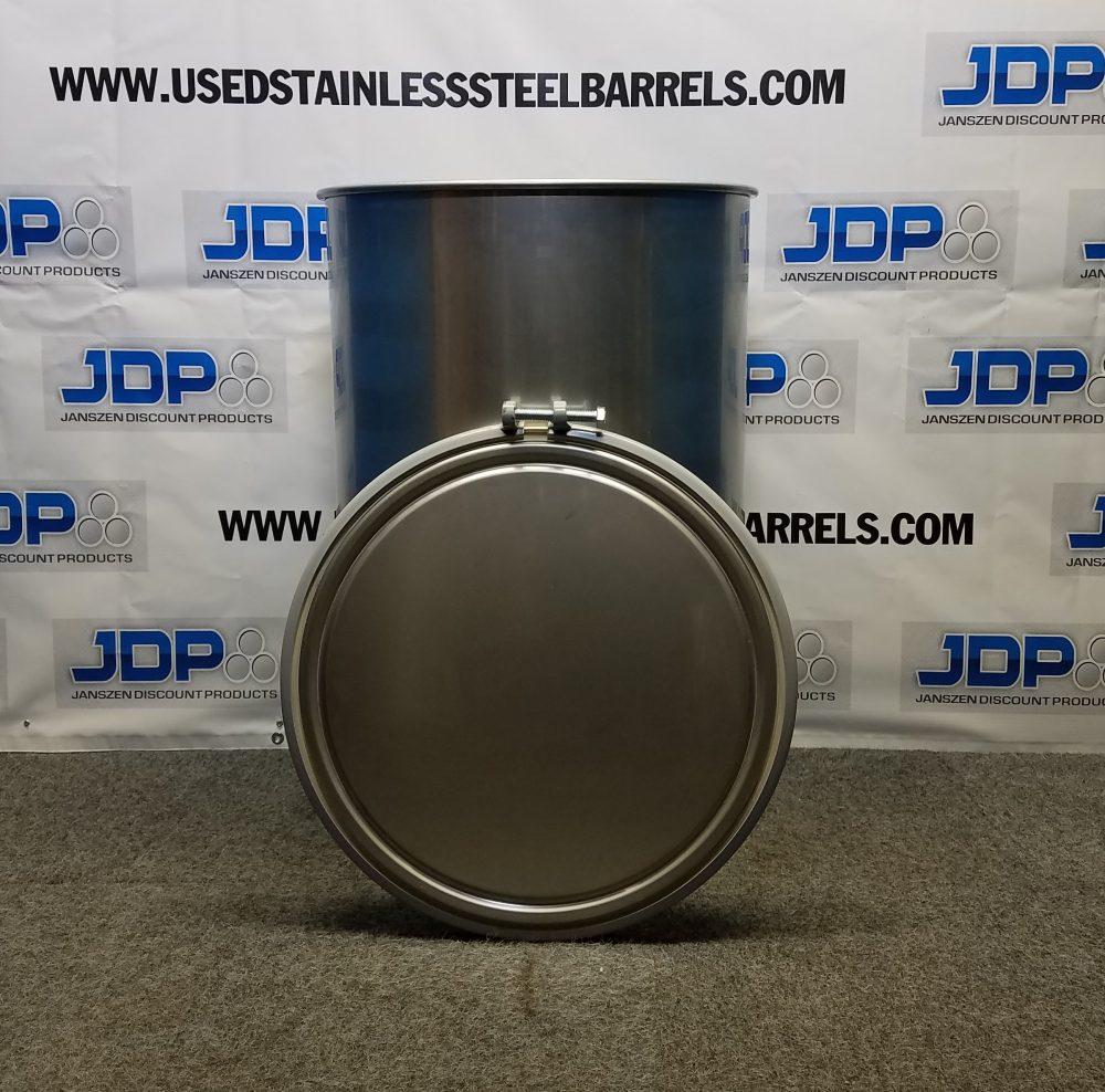 55 gallon stainless steel food grade drum
