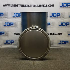 55 gal 304 NEW OTHER stainless Open Head Barrel Crevice Free (1.5mm)