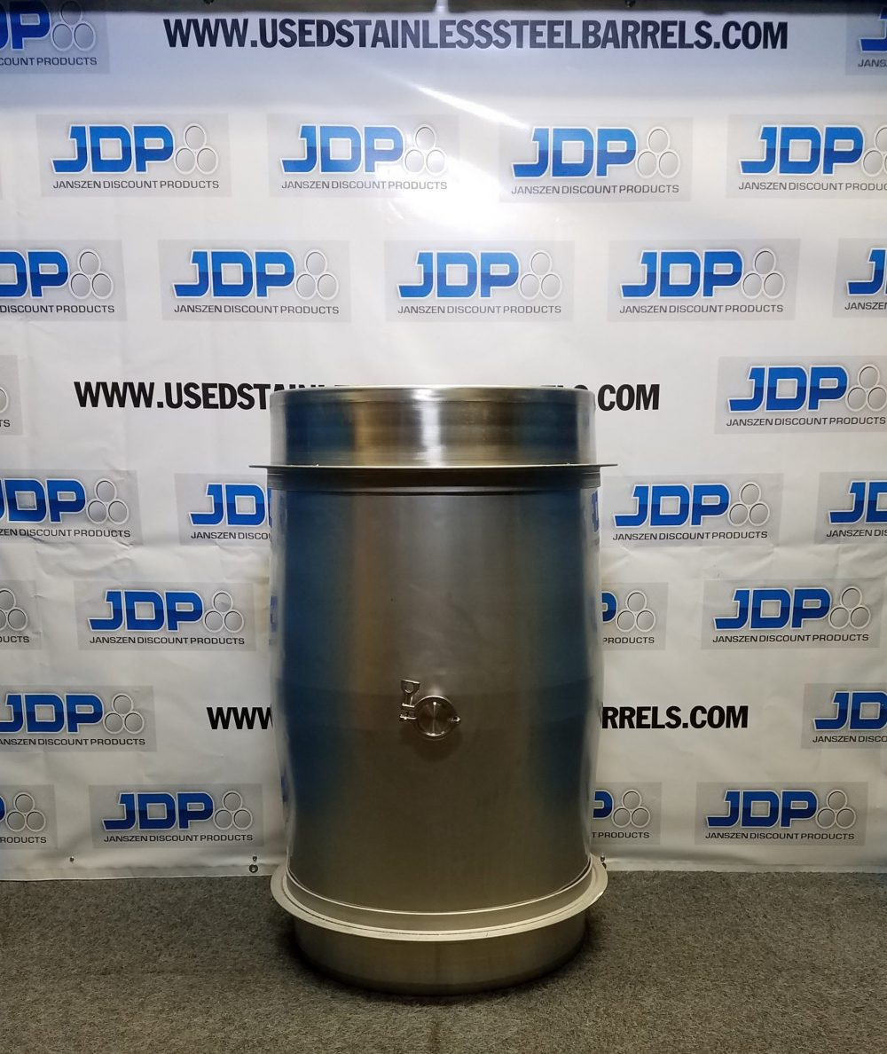 Stainless Steel 75-gallon Wine Barrel