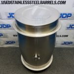 80 gallon stainless steel wine drum