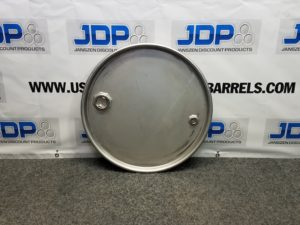 stainless steel drum lid
