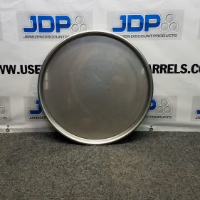 55 Gallon Stainless Steel Drum Lid