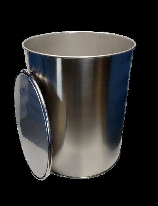 New 100 gallon stainless steel barrel