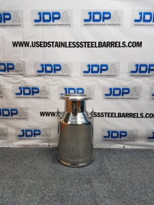 10 gallon stainless steel pail