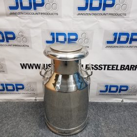 10 Gallon Stainless Steel Pail with Sanitary Bottom