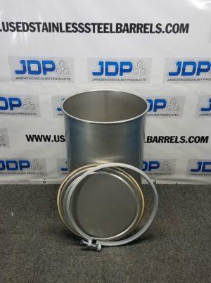 laser welded stainless steel drum