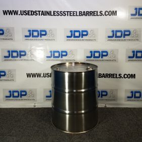 20 gal 304 NEW stainless CLOSED HEAD Barrel (1mm)