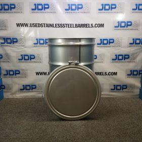 55 gal 304 NEW stainless Open Head Barrel Crevice Free (1.5mm)