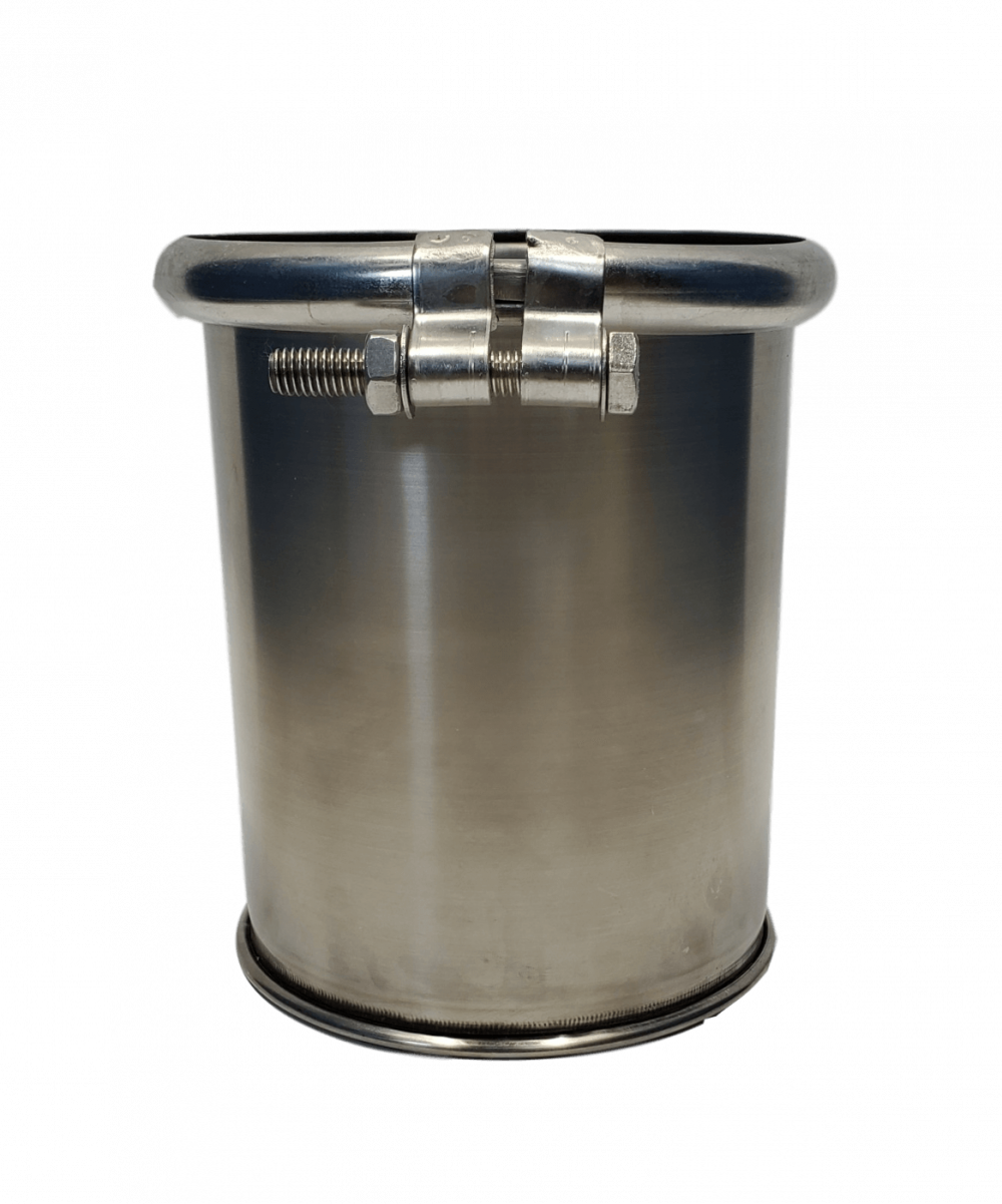 New 1.5 gallon stainless steel barrel