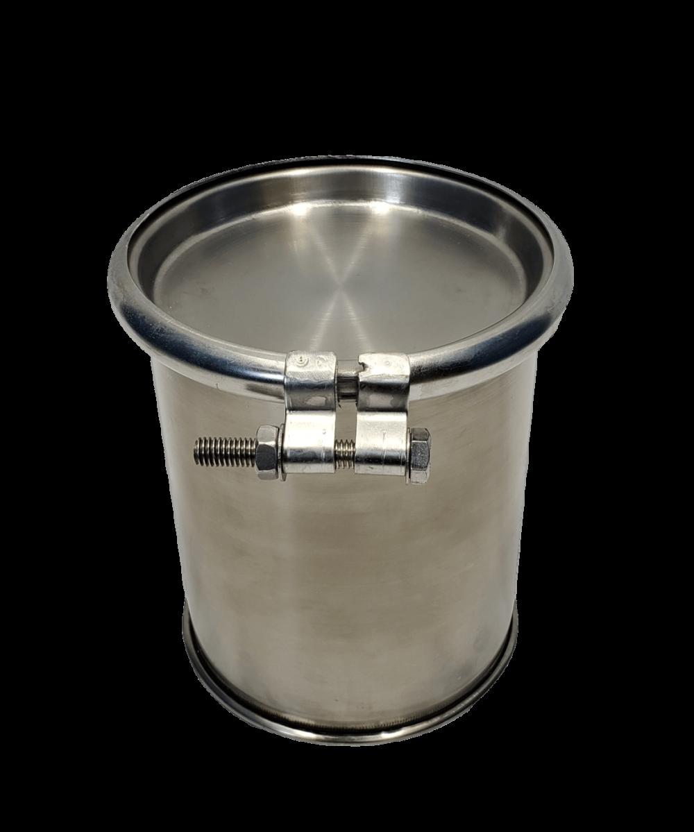 New 1.5 gallon stainless steel barrel