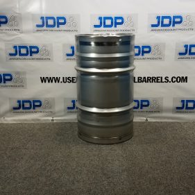 26.5 Gal 304 NEW SS Closed Barrel w/ 2″ fitting in Top (1.5mm)
