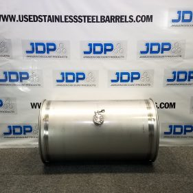 33 Gal 304 NEW OTHER SS Closed Barrel w/ 2″ fitting in Middle (1.5mm)