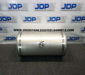 33 gallon stainless steel wine drum