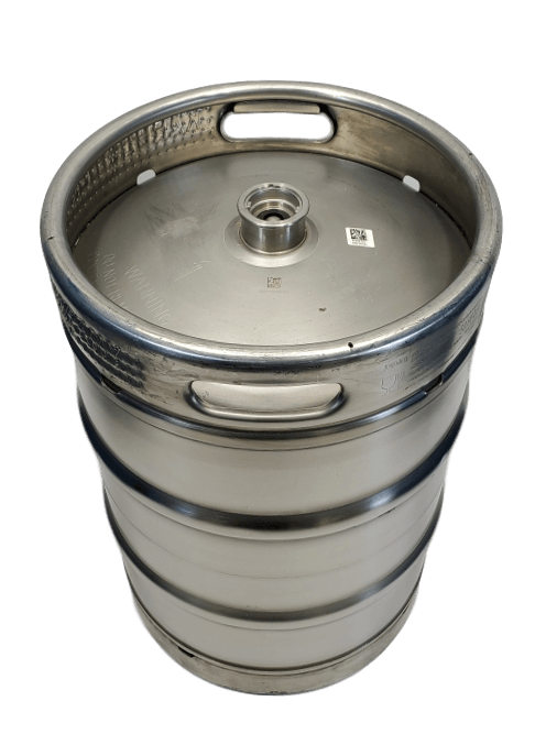 15.5 gallon stainless steel keg