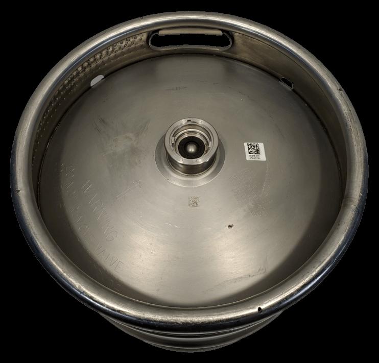 15.5 gallon stainless steel keg