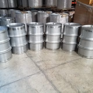 Heavy Duty Stainless Steel Drums