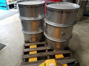 55 gallon wine barrels