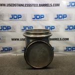 25 gallon stainless steel drum