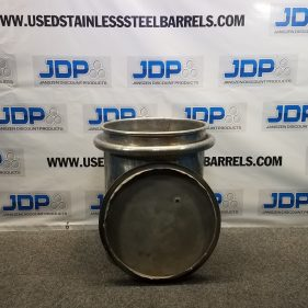 25 gal 304 USED stainless Open Head Barrel / Pot – No Lid